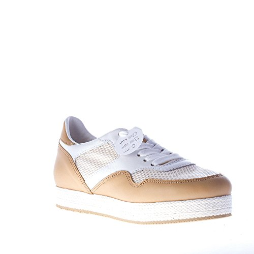 Shoes Rope White Natural and H with Sneaker Trim 268 Beige Hogan Women Beige up lace BwT7Xqq5