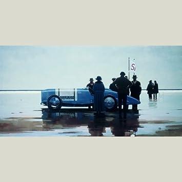 Jack Vettriano greeting card Pendine Beach