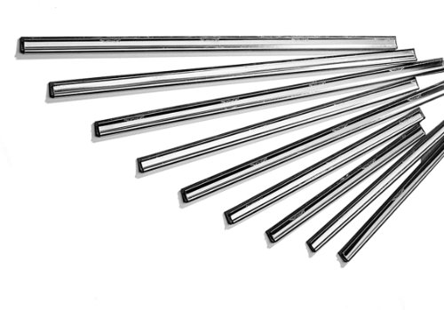 Ettore 1181 Master Stainless Steel Clipped Channel with Rubber, 18 Inch Width (Pack of 12) by Ettore