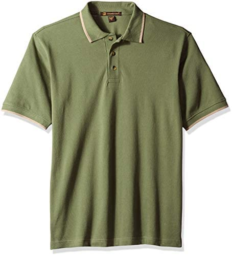 Harritton Men`s Hart-m210-short-sleeve Pique PoloTipping