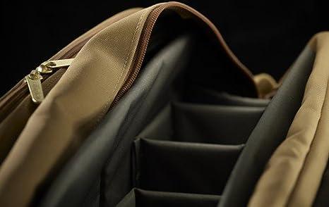 Sage//Tan Billingham 335 FibreNyte Bag for Camera