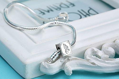 Fairy Tale Book Study Charm Beads Fits Pandora Charms