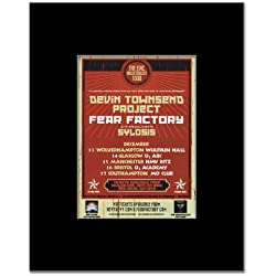 DEVIN TOWNSEND PROJECT - UK Tour 2012 Mini Poster - 13.5x10cm
