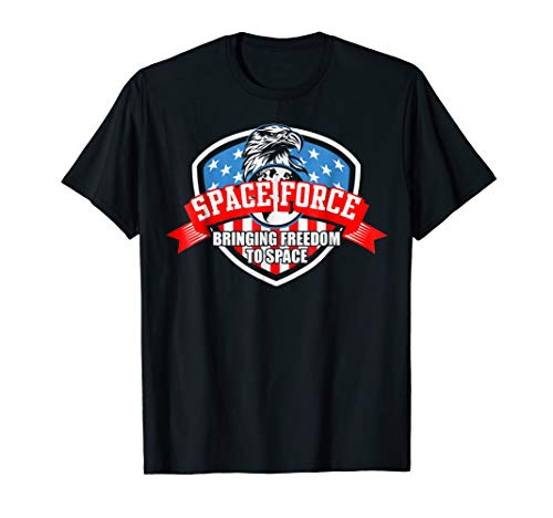 US Space Force Shirt | New Military Branch Novelty Apparel
