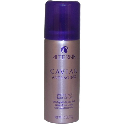 Alterna Caviar Anti-Aging Working Hair Spray, 1.5 Ounce
