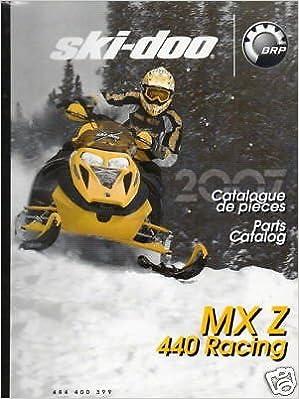 2007 SKI DOO RACING SNOWMOBILE MX Z 440 PARTS MANUAL Manufacturer
