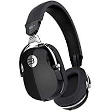 BYZ Over-ear Music Headset HiFi Stereo Headphones Clear Bass Built-in Mic Foldable Rotatable Black