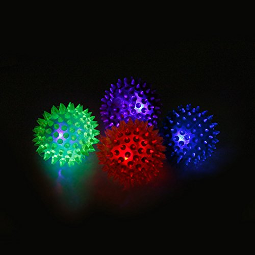 puppy toys ,NNDA CO Dog Puppy Cat Pet Led Whistle Squeaker Rubber Chew Ball Toy 1pc,Rubber