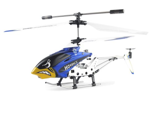EZ Fly RC HCX001B Hover CX Mini Helicopter, Blue (Cx Helicopter)