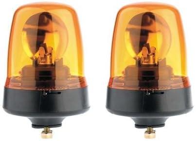 12V Britax rotating beacon amber 1 bolt