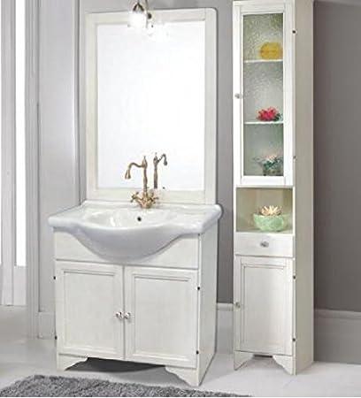 Mobili per bagno amazon great mobile bagno bianco economico da cm lavabo specchio e luce with - Amazon mobili bagno ...
