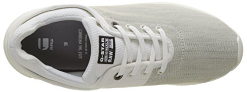 G-STAR RAW Women's Grount Low-Top Sneakers, Black White (White 110)