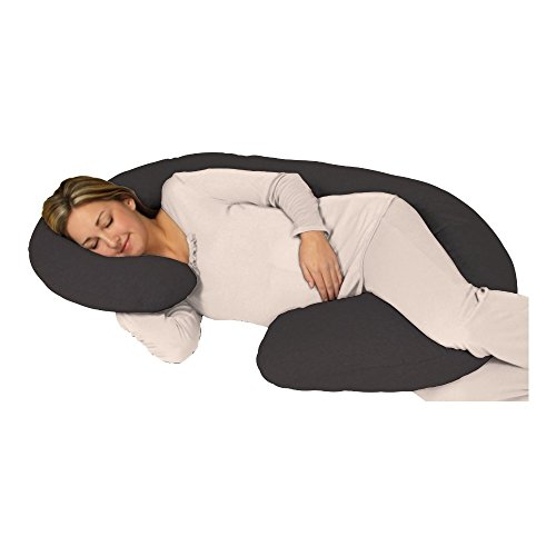 Snoogle Chic Jersey - Snoogle Total Body Pregnancy Pillow Jersey Knit Easy...