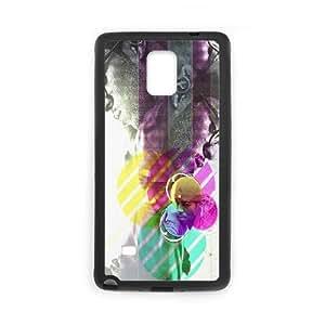 Samsung Galaxy Note 4 Cell Phone Case Black Kid Kudi LSO7775896