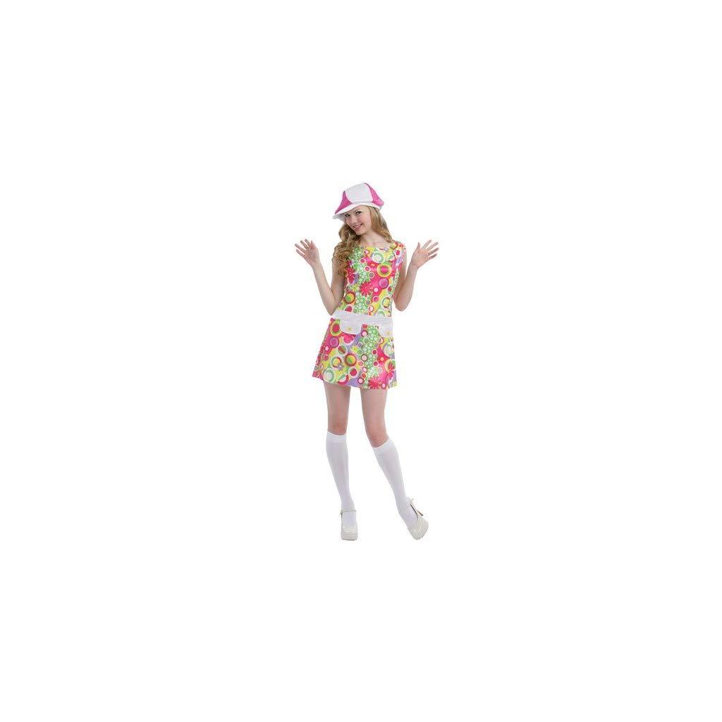 Juguetes Fantasia - Disfraz go-go años 60 adulto: Amazon.es ...