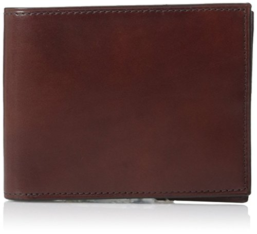 Bosca Old Leather Collection - Executive ID Wallet Wallet Dark Brown Leather (Wallet Bosca Fold Bi)