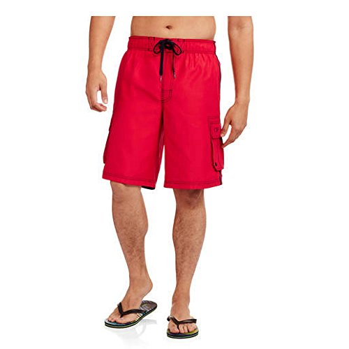 op-red-solid-side-stripe-tugger-above-knee-205-outseam-swim-trunks-xxxxx-large-56-58