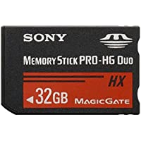 Sony 32 GB Flash Memory Card MSHX32B (Black)