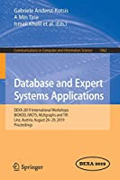 Database and Expert Systems Applications Front Cover