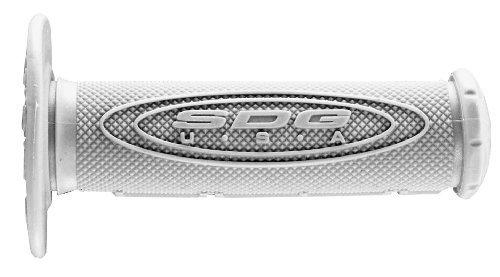(SDG SDG DUAL GRIP GY 1/2 WAFFLE Grips Dual-Compound Half-Waffle Grips GRY- 99117)