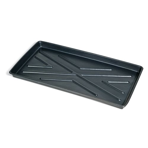 New Pig Under-Rack Containment Tray, Low Profile Utility Tray, 8-Gal Sump Capacity, 44