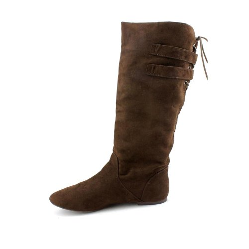 Brown Fiber Women's Boot Girl Micro Material Bonita RAIFFw
