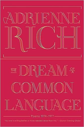 Como Descargar De Mejortorrent The Dream Of A Common Language: Poems 1974-1977 Mobi A PDF