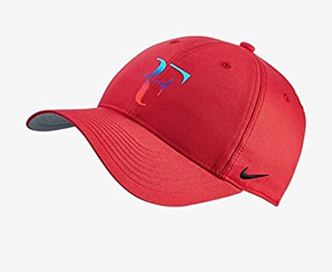 717e0aa4b11 Image Unavailable. Image not available for. Color  Nike Mens Roger Federer  RF Iridescent Pro Hat ...
