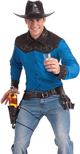 Costumes Holster Cowboy (Cowboy Drink Slinger Holster)