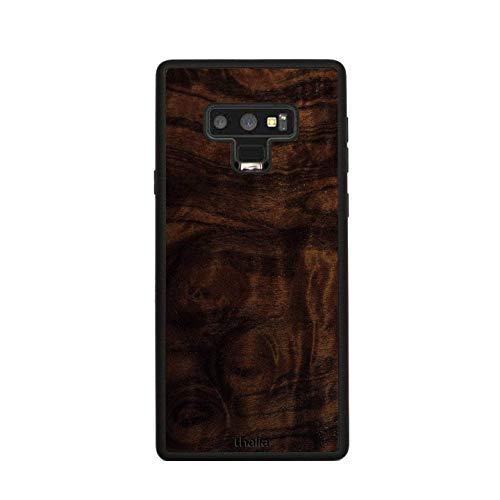 Walnut Burl Phone Case | Thalia Exotic Wood Cases Samsung Galaxy Note 9 (Case Walnut Burl)