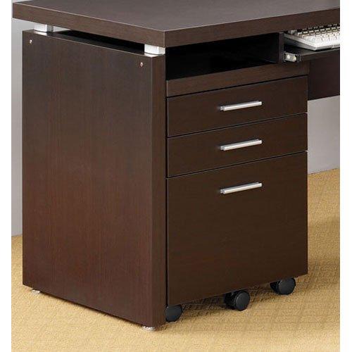 File Cabinet in Cappuccino Finish