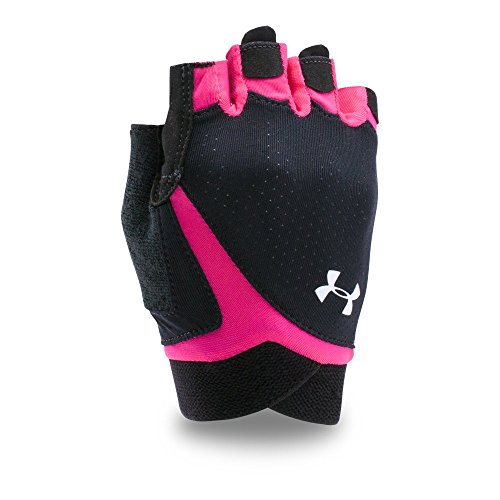 Under Armour Womens CoolSwitch Flux Training Gloves,Black /White, Large