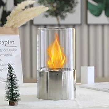 JHY Design - Chimenea de mesa para interiores y exteriores ...