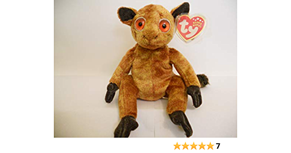 Ty Beanie Baby - Gizmo The Lemur by: Amazon.es: Juguetes y juegos