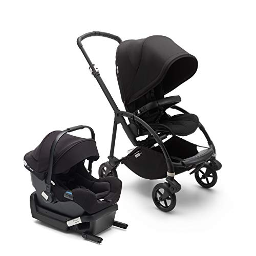 Bugaboo Bee 6 Complete Stroller & Turtle One by Nuna Car Seat – Compact, Lightweight and Easy Stroller for Travel and…