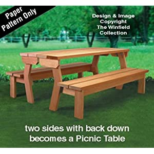 Benchnic Table Wood Project Plan