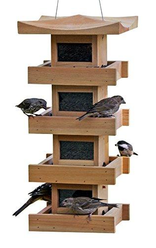 Bird Feeder 4-Level, Cedar ()