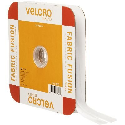 VELCRO(R) BRAND FASTENERS VELCRO(R) Brand Fabric Fusion Tape, 3/4 by 5-Yard, White by VELCRO Brand