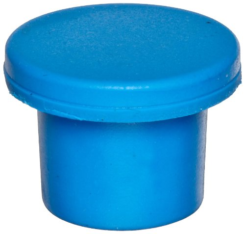 (Chemglass CLS-4209-14 Blue Rubber Butyl Stopper, 20mm Size (Pack of)