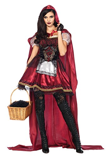 Women's Captivating Miss Red Costume - XL ()