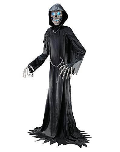10 Ft Towering Reaper Animatronics - -