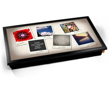 Insta-gram Personalised Photo (6) Laptop Tray Cojín Bandeja ...