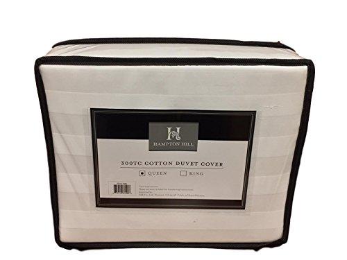 Hampton Hill 300 TC Cotton Duvet Cover (Queen)