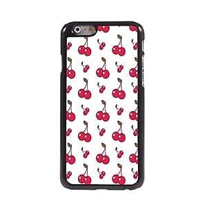 Mini - Lovely Cherry Design Aluminum Hard Case for iPhone 6 Plus