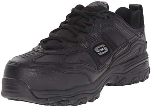 Skechers for Work Women's D'Lite Slip Resistant Toliand Composite Toe Shoe