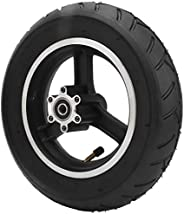 Scooter Rubber Tire, Pressure Resistant 10x2.5inch Wheel Tire Natural Rubber Shock Absorption for Electric Sco