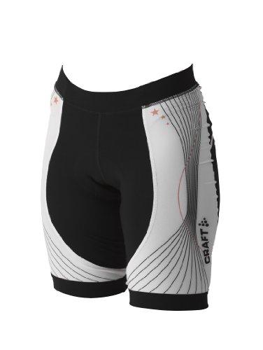 Craft Performance Bike Tour Shorts Women (X-Large) Black/White ()