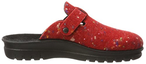 Village 390 rot Romika Rot multi 402 Donna Pantofole T75nwdq