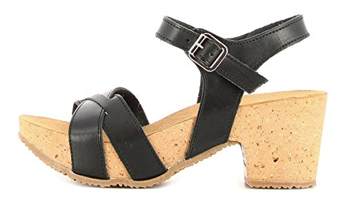 35A913NERO Bionatura Sandalo Donna