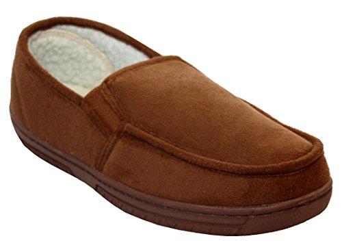 Tan Et Pour Type Russ Légères 47 41 Intérieure Avec Chaussures Taille Confortables Fourrure En Doublure Homme Mocassin nHZwxqF